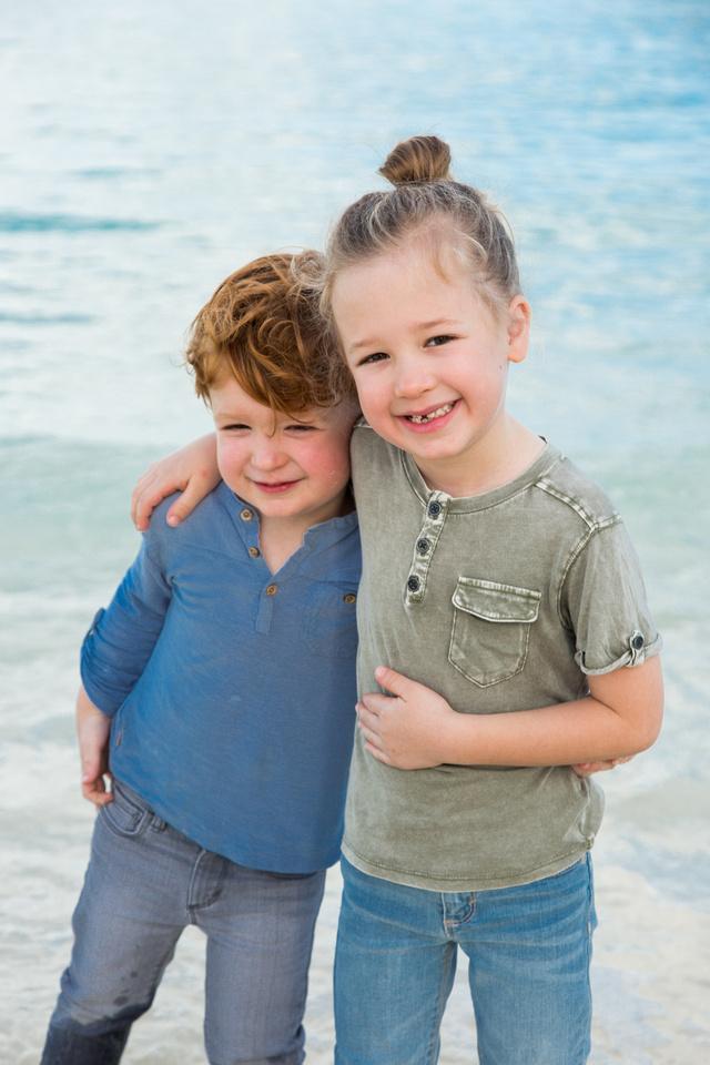 Bahamas Beach Family Portraits